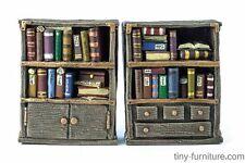 Librarian's bookshelves - D&D, Mordheim, dungeon terrain, dwarven forge, scenery