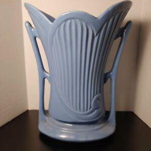 Ceramic vase, art deco, 2 handles, marked