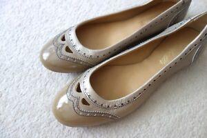 Size Ballet Designer Bluebells Leather 40 Pumps wqvT6IZF
