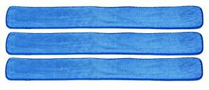 """48"""" Commercial Industrial Microfiber Wet Mop Pad for 48 Inch Mop Frames (3 Pack) 608819518497"""