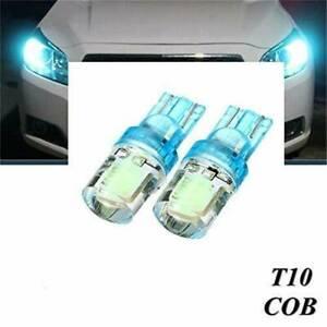 2-Pcs-T10-194-W5W-COB-LED-Car-Silica-License-Plate-Width-Light-Bulb-Ice-Blue