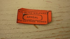 OLD-AUSTRALIAN-FUNDS-APPEAL-BADGE-1940s-SA-BLIND-WELFARE-APPEAL-HOMES
