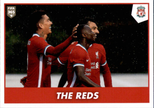 Panini Fifa 365 2021 FC Liverpool The Reds Sticker 33