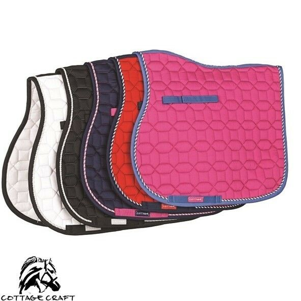 Cottage Craft Electra Saddle Cloth – MODERN DESIGN – 5 COLOURS – 2 SIZES