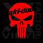 Ski-Doo Punisher Skull Dicut Vinyl Decal Snowmobile Skandic MXZ 3SZ//14CLR Summit