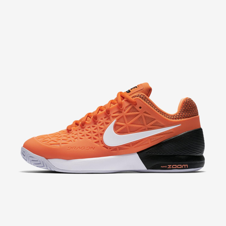Nike Zoom Cage 2 Women's Tennis shoes - 705260-802 orange White Black