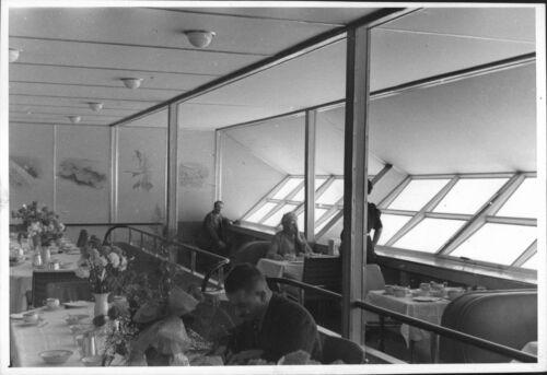 8x10 photo The restaurant inside the airship Hindenburg