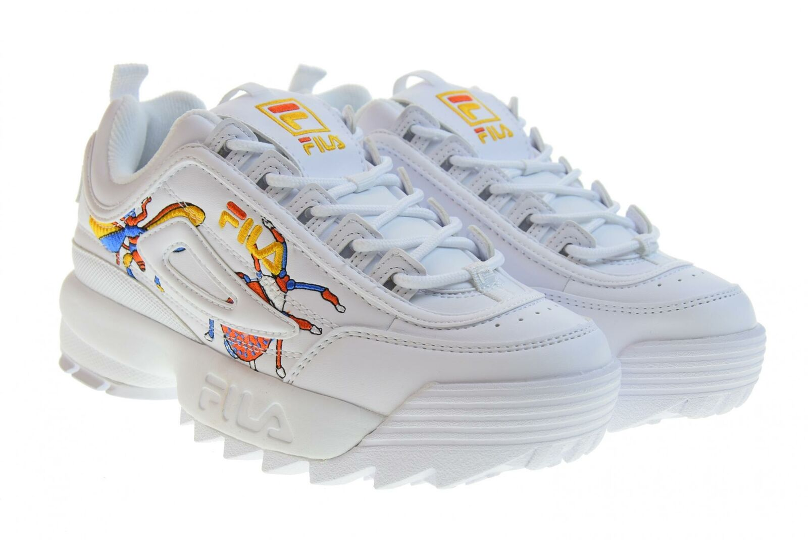FILA P19g Womens shoes Low Trainers 1010609.90A Disrupter calabrone Low WM