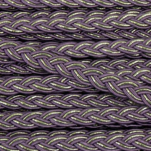 Traditional Gimp Braid Trim Upholstery Lilac 8mm Wide Sold by Metre G33