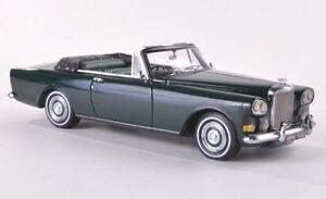 Bentley Siii Continental Mulliner Parc Ward Dhc (vert Sombre)
