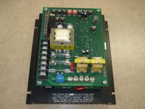 MINARIK ELECTRIC 1HP 115VAC-IN 90VDC-OUT DC MOTOR DRIVE RG100UC