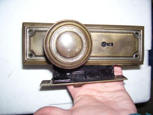 Antique pressed steel passage sets  =