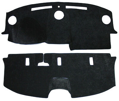 NEW Black Simulated Suede Rear Deck Mat Cover 2005-2007 CHRYSLER 300 Fits