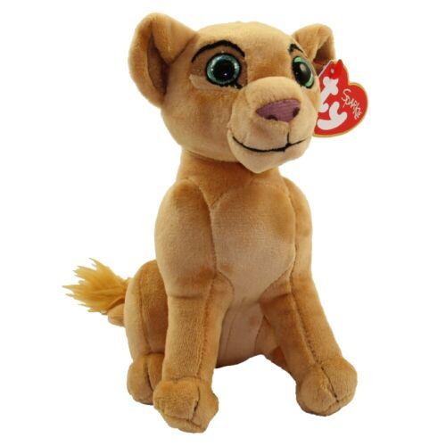 "Plush Animal Toy MWMT Heart Tags Disney 2019 TY Beanie Baby 8/"" NALA Lion King"