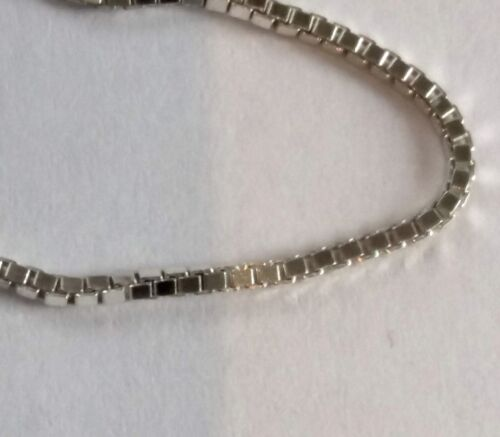 925 Sterling Silver Chain Bracelet Necklace Rope Curb Belcher Box ALL SIZES
