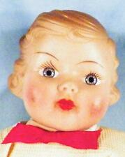 Horsman Fairy Skin Doll Gold Medal 1 Piece Latex Body 13in. As Is Vintage 1930s