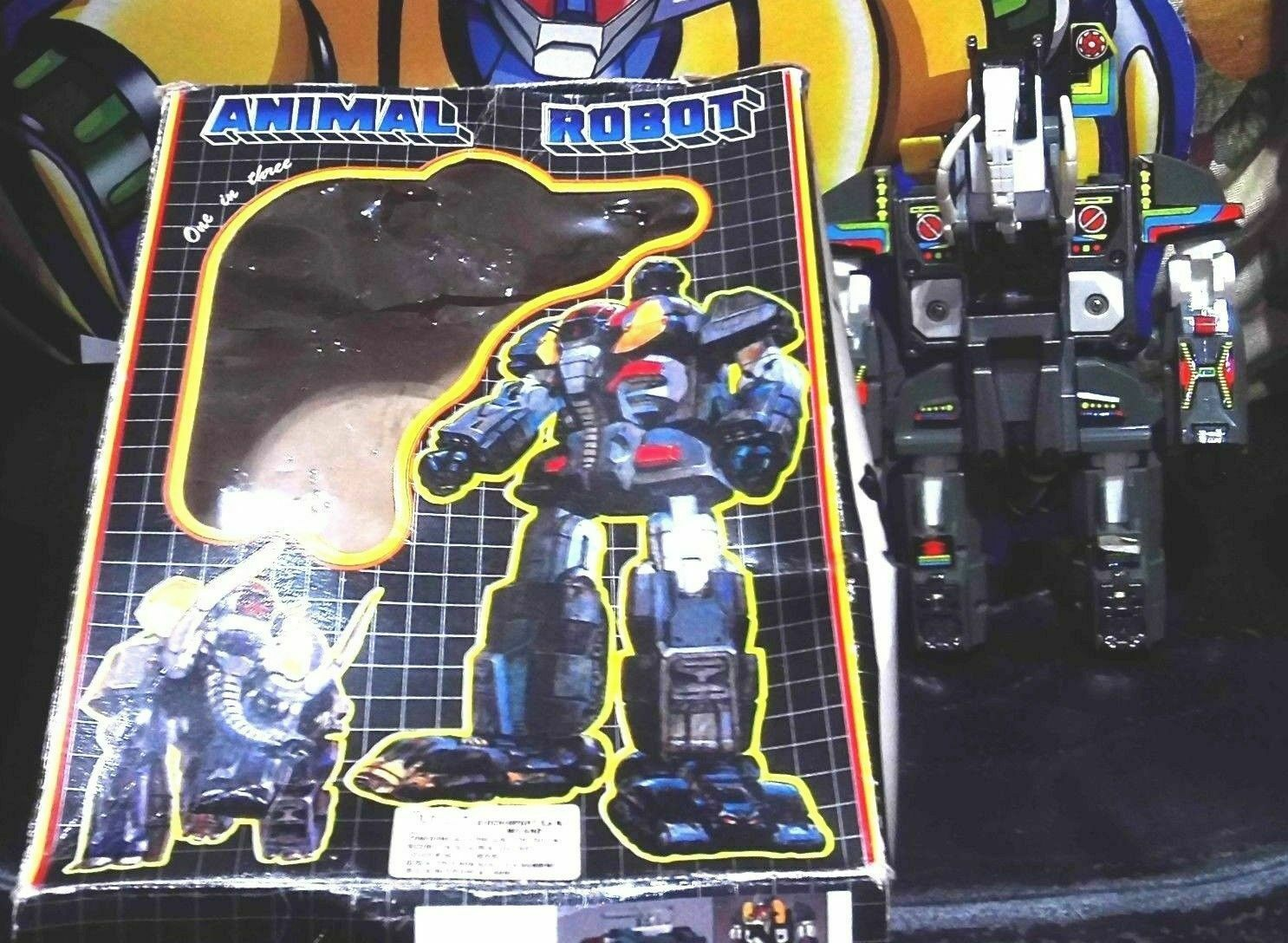 ANIMALS ELEFANT ROBOT TRANSFORMERS TAIWAN VINTAGE 80-MAMMUTH ELEPHANT beast wars