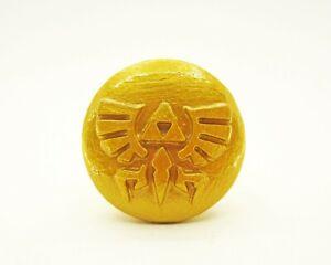Legend of Zelda Hyrule Emblem Furniture Drawer Knob | Nintendo Video Game Decor