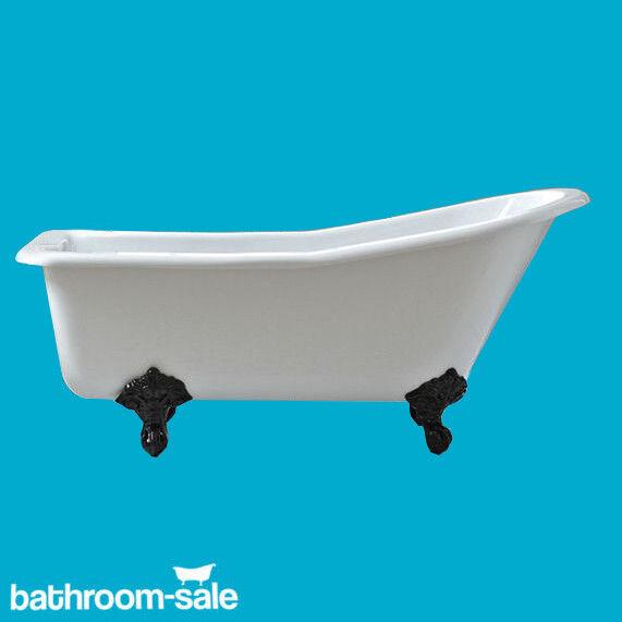 Salisbury pantoufle Roll Top Bath 1690 Inc traditionnelle en fonte pieds
