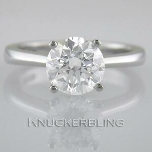 Diamond-Solitaire-Ring-1-70ct-Certified-H-Exc-Exc-Exc-Brilliant-18ct-White-Gold