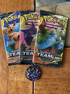 Pokemon Sun and Moon Team Up Booster Box factory Sealed unopened Charizard!