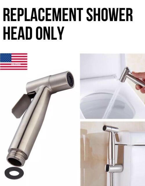 Stainless Steel Replacement Shower Head Only For Bidet Diaper Sprayer Muslim Sps For Sale Online