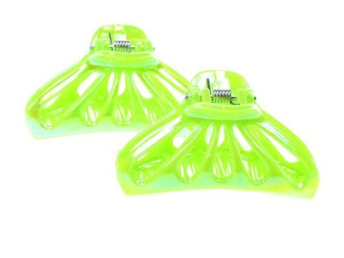 Green AB 5cm Hair Clamp Clips