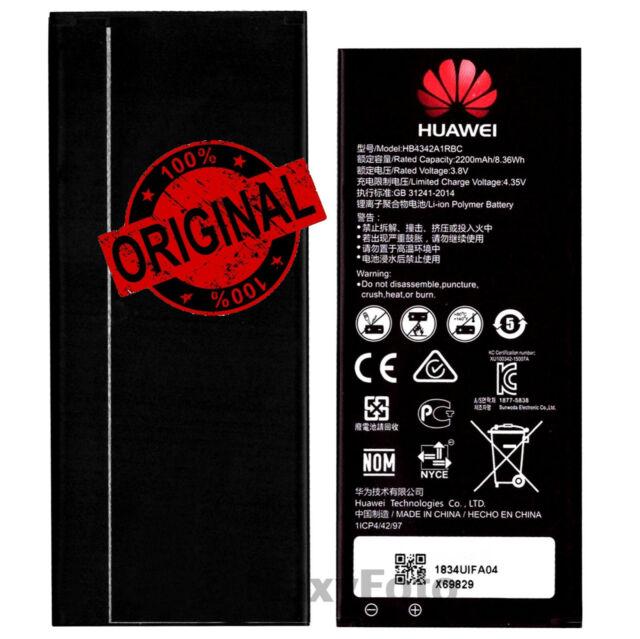 HUAWEI BATTERIA ORIGINALE HB4342A1RBC 2200mAh HONOR 4A Y5II 4G Y6 Y6II COMPACT