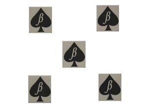 Pack-of-5-Mini-Beta-Boi-of-Spades-Temporary-Tattoo-BBC-Cuckold-Gay-Sissy-Wimp