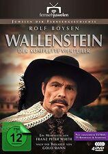 Wallenstein (1-4) - Der Vierteiler mit Rolf Boysen 1978 - Fernsehjuwelen [4 DVD]