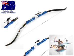 """30//40lbs 52/"""" Archery Straight Bow Recurve Takedown Sight Archery Target Shooting"""
