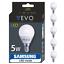 LED-Lampe-E14-5W-5erPack-SMD-Kaltweiss-Neutralweiss-Warmweiss-ersetzt-50-W Indexbild 1