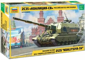 "Zvezda 1:35 3677: Russischer Panzer 2S35 ""Koalitsiya-SV"""