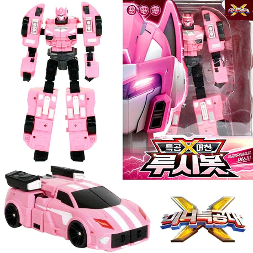 Miniforce X Rucy Rucybot Transformer Robot Car Toy 2018 New Ver Sonokong + Gift