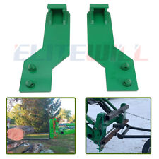 Front Tractor Loader Quick Tach Weld On Mounting Brackets Fits For John Deere