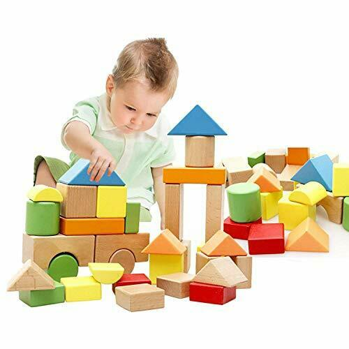 Lewo Grandi Blocchi Di Costruzione in Legno Giochi Set Bambini Educativo impilamento Giocattoli