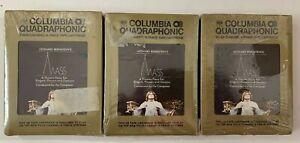 LEONARD-BERNSTEIN-039-s-MASS-3-Tape-Set-8-Track-Tape-QUADRAPHONIC-STILL-SEALED