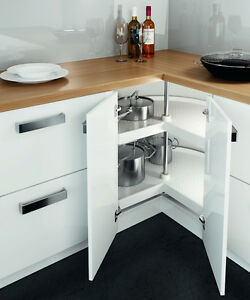 Merveilleux Image Is Loading 3 4 Kitchen Corner Carousel Storage Unit 800