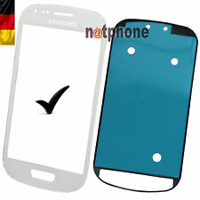 Samsung Galaxy S3 Mini I8190 LCD Display Glas Touch Screen  Glass WEIß ORIGINAL