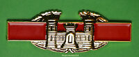 Combat Engineer Badge Award 1 1/2 Inch Cab Army Pin