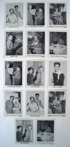 14 B&W Leave It To Beaver Trading Cards 1983 Pacific