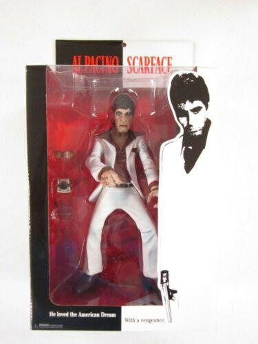 "MEZCO TOYZ 9/"" Scarface Tony Montana Costume Blanc figure factory sealed"