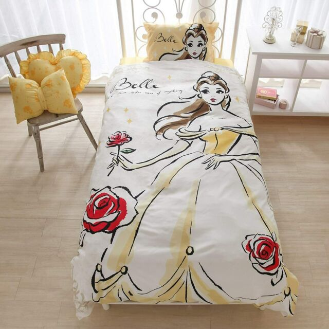Disney Belle Bed Cover Sheets Pillow Case 3 Set Beauty And The Beast F S Japan For Sale Online Ebay