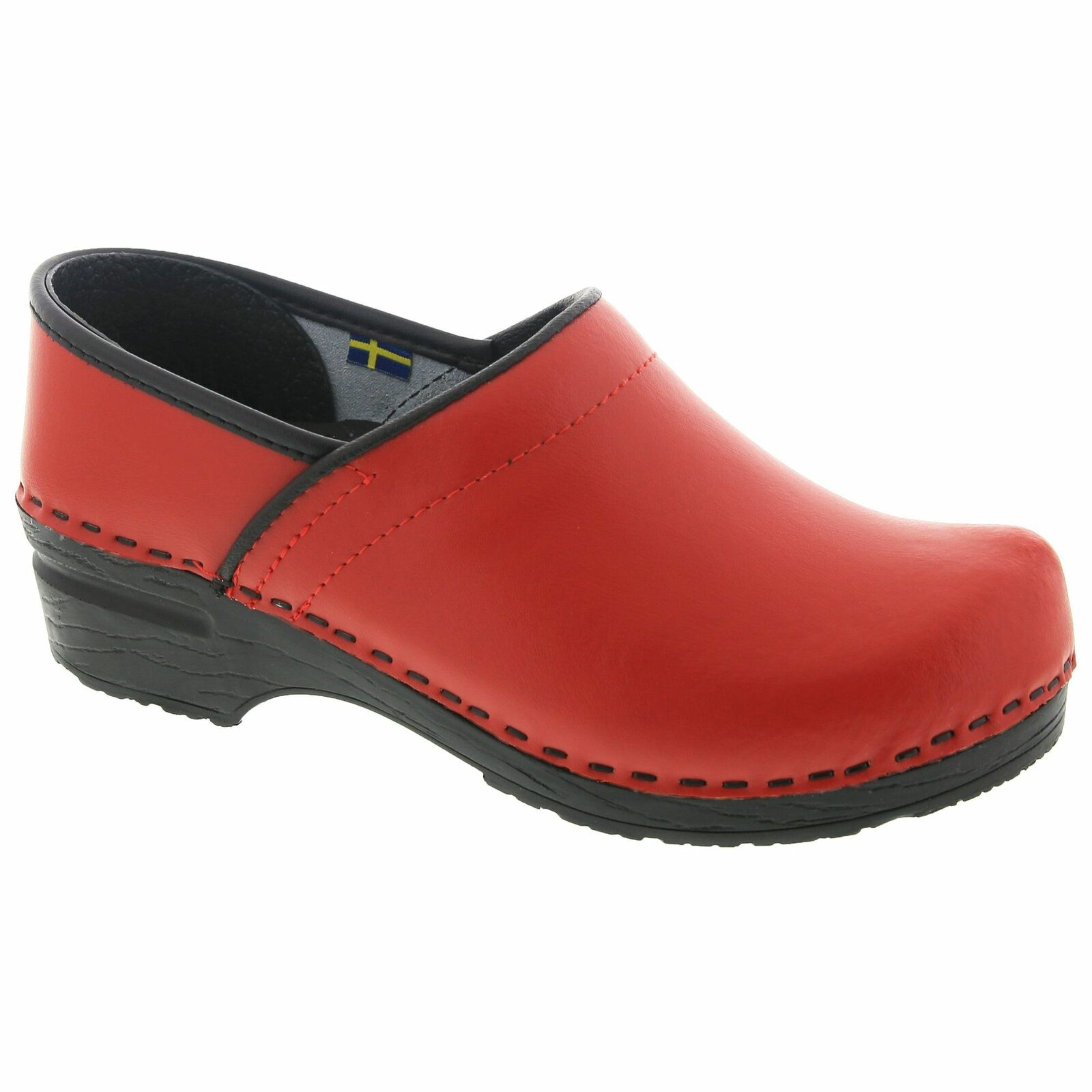 BJORK PRO ELLA Leather Clogs