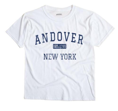 Andover New York NY T-Shirt EST