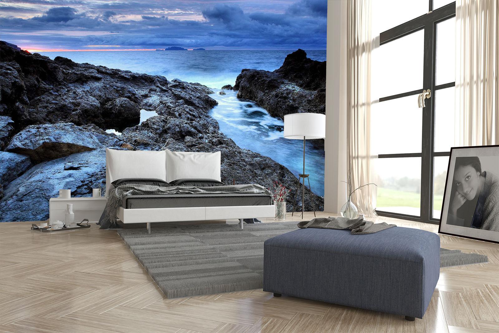 3D Paesaggio Parete Murale Foto Carta da parati immagine sfondo muro stampa