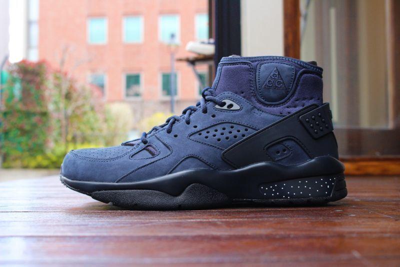 Nike air mowabb acg obsidian blaue huarache sneakerboot lebron lebron lebron 882686-400 sz - 8 0d36b1