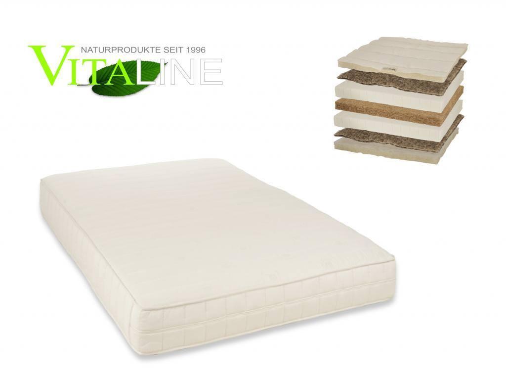 Materasso naturale vita-line naturale extra15 cm Lattice Lattice Lattice Cocco crine di cavallo 95a3d1