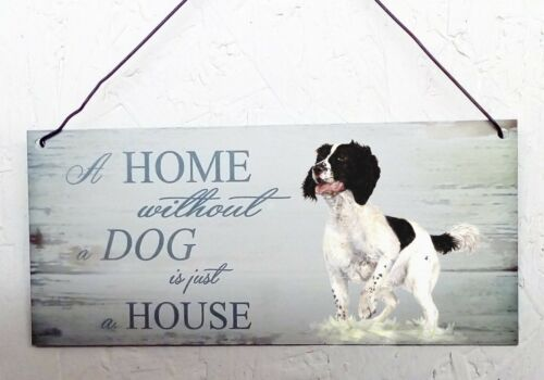 Spaniel,Springer dog house and home plaque other breeds available