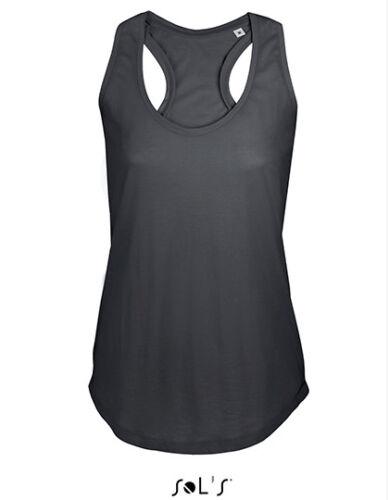 Sols Damen Tanktop Moka Muskelshirt Top Träger Unterhemd Sportshirt Fitness Gym